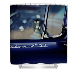 Custom Cab Shower Curtain