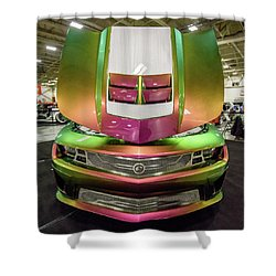 Shower Curtain featuring the photograph Custom Camaro by Randy Scherkenbach