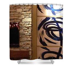 Custom Shower Curtain by Heather Roddy
