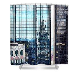 Custom House Reflection Shower Curtain