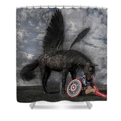 Custom Knapp 322 Shower Curtain