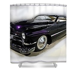 Custom Merc Shower Curtain