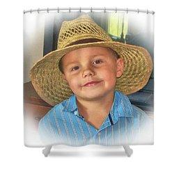 Cute Kid Shower Curtain