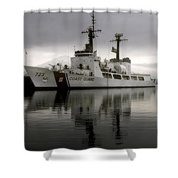 Cutter In Alaska Shower Curtain