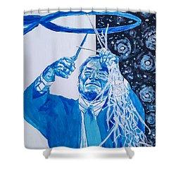 Cutting Down The Net - Dean Smith Shower Curtain