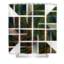 Cutting Life Shower Curtain by Thibault Toussaint