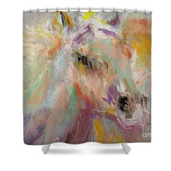 Cutting Loose Shower Curtain by Frances Marino
