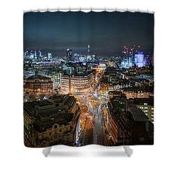 Shower Curtain featuring the photograph Cyber City by Stewart Marsden