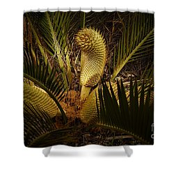 Cycad Shower Curtain