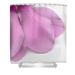 Cyclamen Shower Curtain by Marc Philippe Joly
