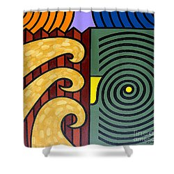 Cycle Of Nature Shower Curtain by Patrick J Murphy