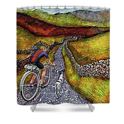 Lancashire Lanes II Shower Curtain
