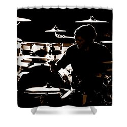 Cymbal-ized Shower Curtain
