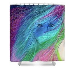 Cyndi 5th Dimension Shower Curtain