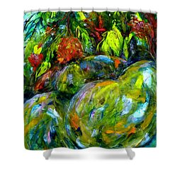 Cynometra Cauliflora Shower Curtain