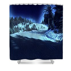 Cypress Bowl, W. Vancouver, Canada Shower Curtain