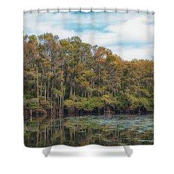Cypress Jungle Shower Curtain