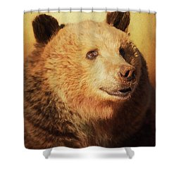 Cypress The Bear Shower Curtain