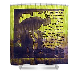 D U Rounds Project, Print 12 Shower Curtain