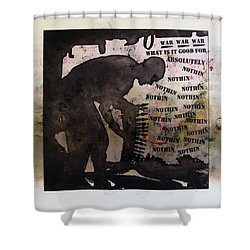 D U Rounds Project, Print 19 Shower Curtain