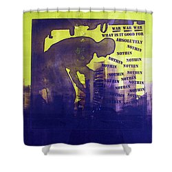 D U Rounds Project, Print 24 Shower Curtain