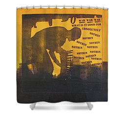 D U Rounds Project, Print 27 Shower Curtain