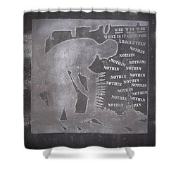 D U Rounds Project, Print 33 Shower Curtain