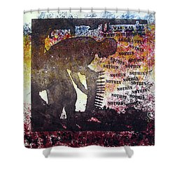 D U Rounds Project, Print 37 Shower Curtain