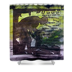 D U Rounds Project, Print 48 Shower Curtain