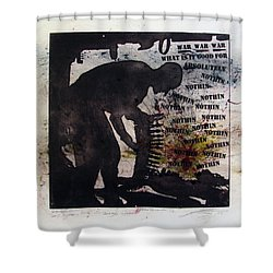 D U Rounds Project, Print 53 Shower Curtain
