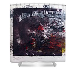 D U Rounds Project, Print 7 Shower Curtain