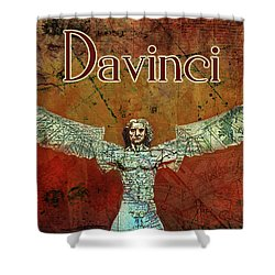 da Vinci 2023 Shower Curtain