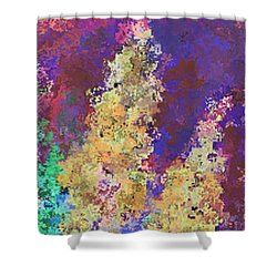 Dabble Flowers Shower Curtain