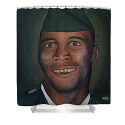 Dad Shower Curtain by Angelo Thomas