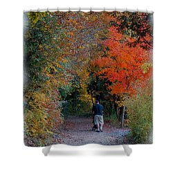 Daddy-daughter Time Shower Curtain