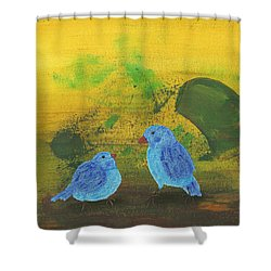 Daddy, Hungry Shower Curtain