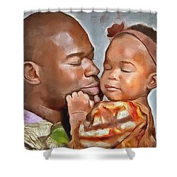 Daddy's Girl Shower Curtain