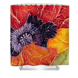 Dad's Poppy Shower Curtain