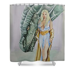 Daenerys Targaryen - Game Of Thrones Shower Curtain