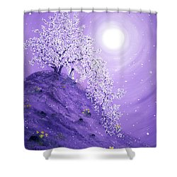 Daffodil Dawn Meditation Shower Curtain