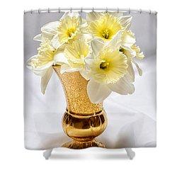 Daffodil Elegance  Shower Curtain