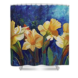 Daffodils Shower Curtain