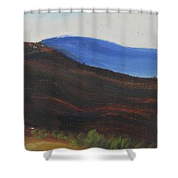 Dagrar Over Salenfjallen- Shifting Daylight Over Distant Horizon 2 Of 10_0035 50x40 Cm Shower Curtain