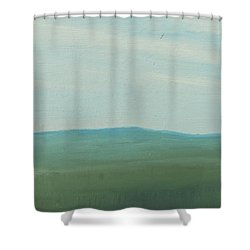 Dagrar Over Salenfjallen- Shifting Daylight Over Distant Horizon 4 Of 10_0029 51x40 Cm Shower Curtain