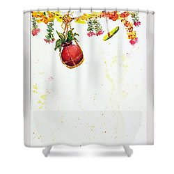 Dahi Handi Shower Curtain