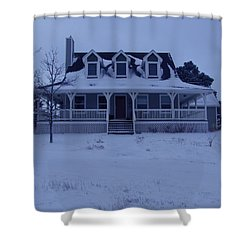 Dahl House Shower Curtain by Gene Gregory