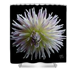 Dahlia Cutout Shower Curtain