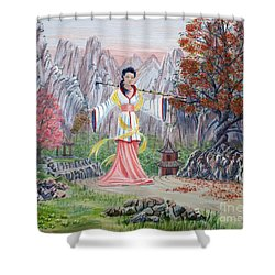 Dai Yuu Shower Curtain