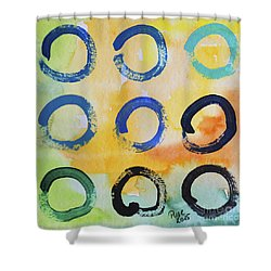 Daily Enso - The Nine Shower Curtain