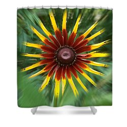 Dainty Daisy Shower Curtain by David and Lynn Keller